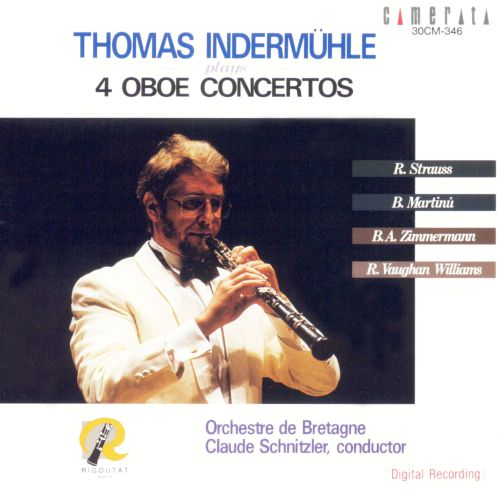 Thomas Indermühle plays 4 Oboe Concertos