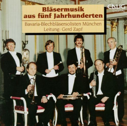 Five Centuries Of Music For Brass Ensemble