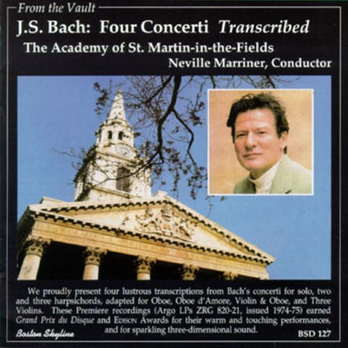 Bach: Four Concerti [Transcribed]