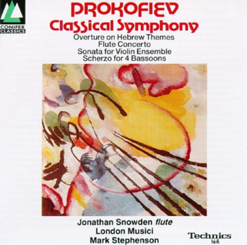 Sergey Prokofiev: Classical Symphony; Overture on Hebrew Themes; Flute Concerto; Sonata for Violin Ensemble