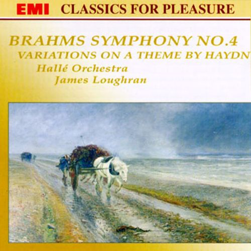 Brahms: Symphony No.4/Variations on a Theme By Haydn