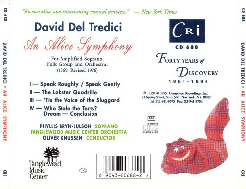 David Del Tredici: An Alice Symphony