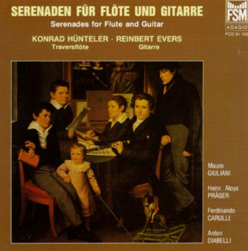 Serenades For Flute And Guitar
