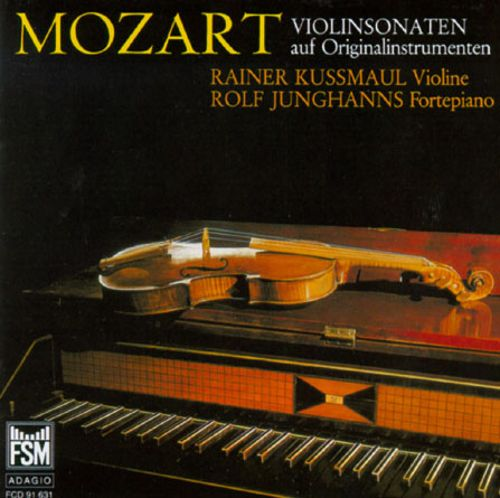 Mozart:Violin Sonatas Performed On Original Instruments