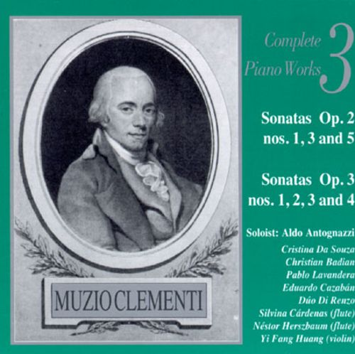 Muzio Clementi: Complete Works for Piano, Vol. 3