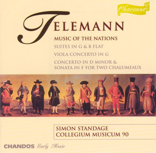 Telemann: Music of the Nations