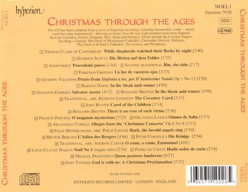 Christmas Through the Ages [2001]