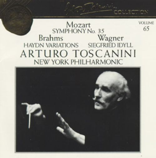 Arturo Toscanini Collection, Vol. 65: Mozart, Brahms & Wagner