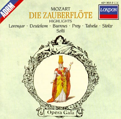 Mozart: Die Zauberflöte [Highlights] [1969 Recording]