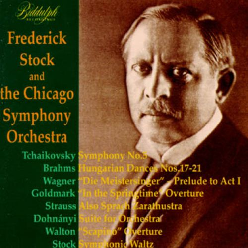 Frederick Stock & The Chicago Symphony