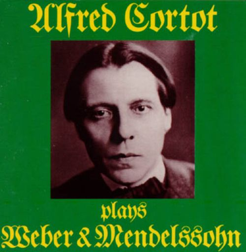 Alfred Cortot Plays Weber