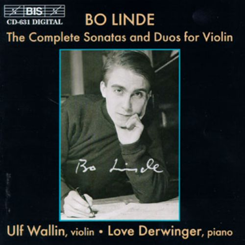 Bo Linde: The Complete Sonatas and Duos for Violin