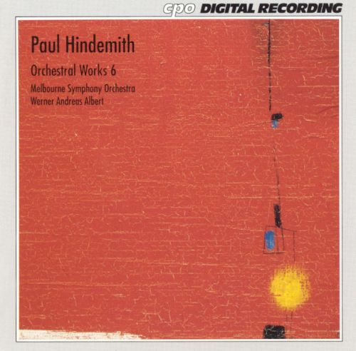 Paul Hindemith: Orchestral Works, Vol. 6