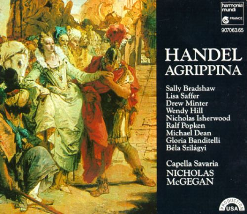 George Frideric Handel: Agrippina