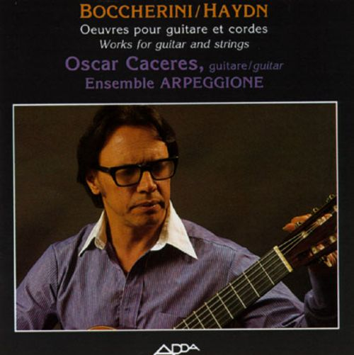 Boccherini/Haydn: Works for Guitar and Strings