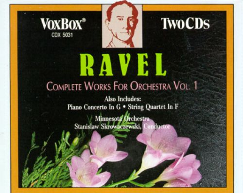 Ravel: Works for Orchestra (Complete), Vol. 1