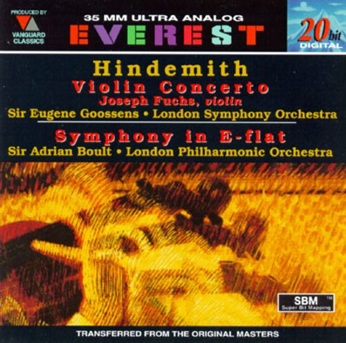 Paul Hindemith: Violin Concerto; Symphony in E-Flat