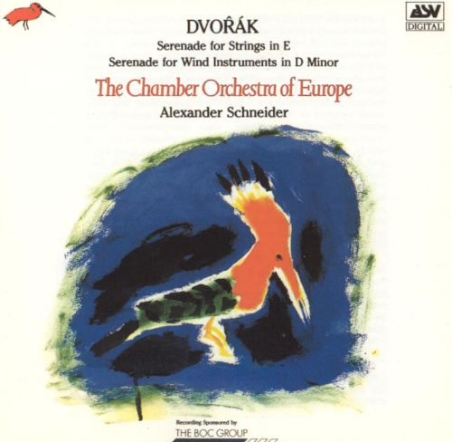 Dvorák: Serenade for Strings in E; Serenade for Wind Instruments in D minor
