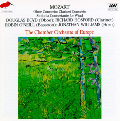 Mozart: Three Wind Concertos