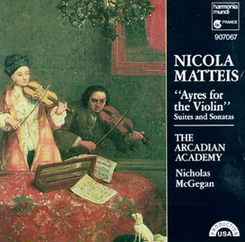 Matteis: Ayres for the Violin