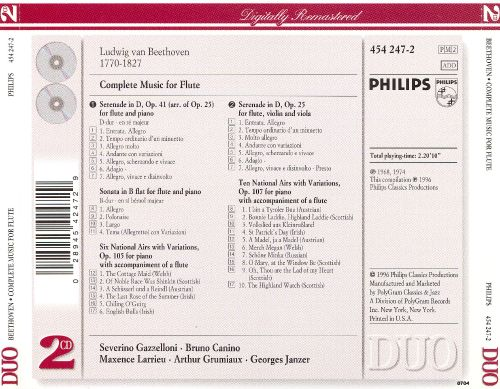 Beethoven: Complete Music for Flute
