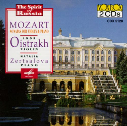 Mozart: Sonatas for Violin & Piano