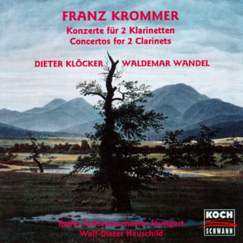 Franz Krommer: Concertos For 2 Clarinets And Orchestra