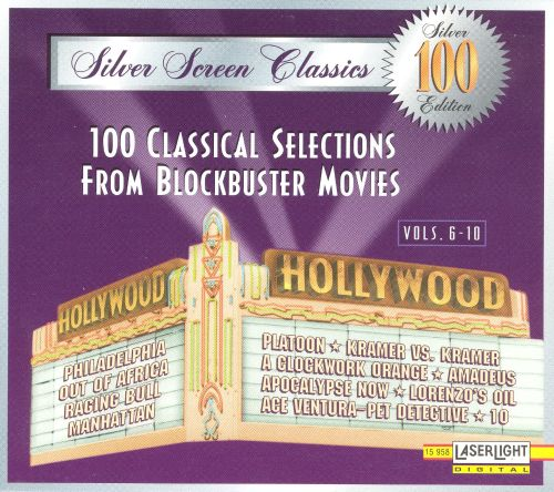One Hundred Classical Selections from Blockbuster Movies, Vols.6-10