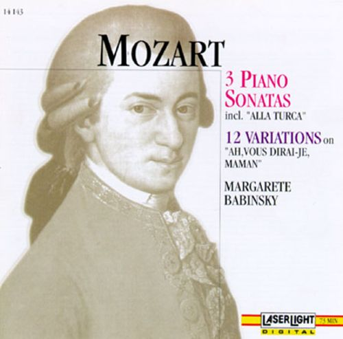 Mozart: Sonatas For Piano/Variations (12)