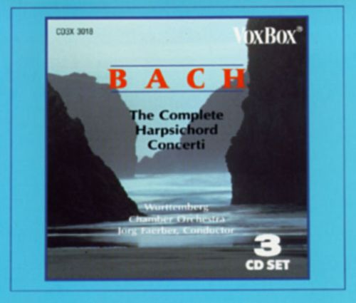 Bach: The Complete Keyboard Concerti