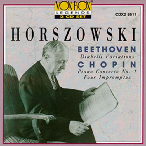 Beethoven: Diabelli Variations; Chopin: Piano Concerto No. 1; Four Impromptus