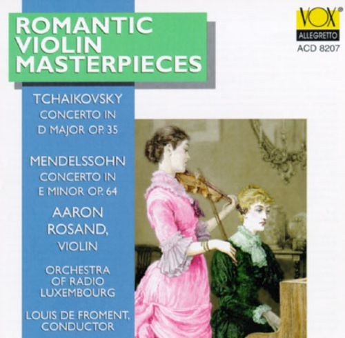 Romantic Violin Masterpieces