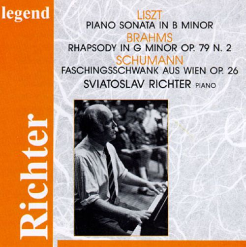 Richter Plays List, Brahms and Schumann