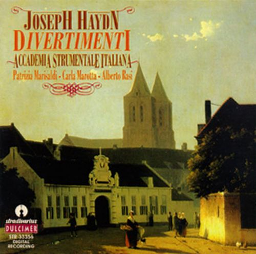 Haydn: Partite, Divertimenti and Trios for Harpsichord, Violin, and Bass