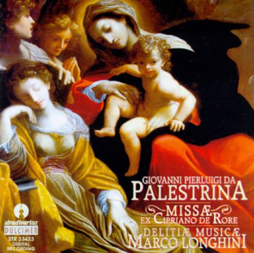 Palestrina:The Masses on Cipriano De Rore's Madrigals