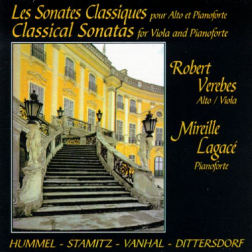 Classical Sonatas for Viola and Piano