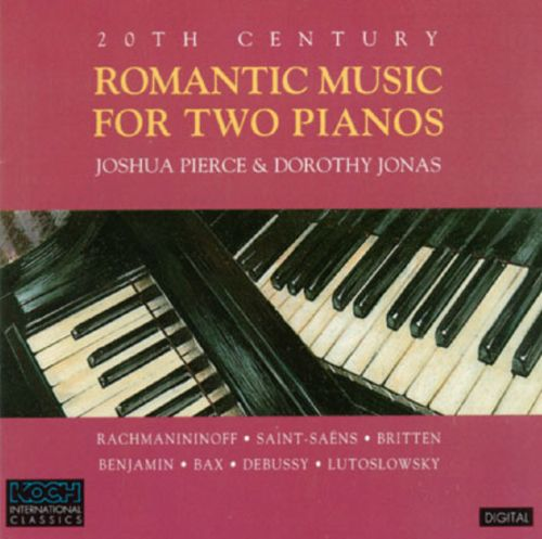 20th Century Romantic Music for Two Pianos