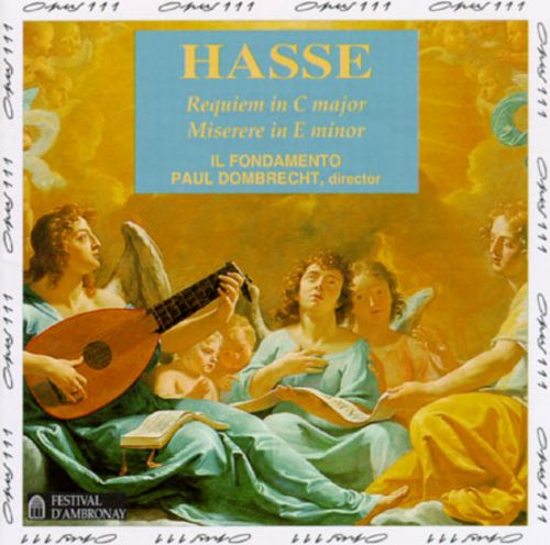 Hasse: Requiem in C major; Miserere in E minor