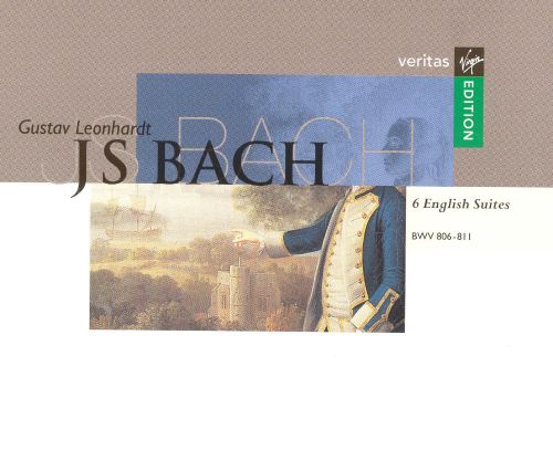 J.S. Bach: 6 English Suites, BWV 806-811