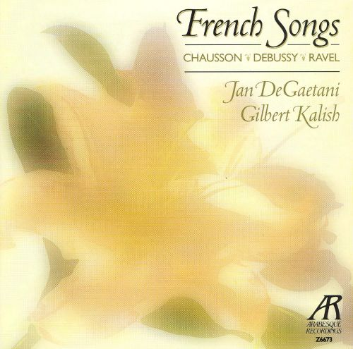 French Sons by Chausson, Debussy & Ravel