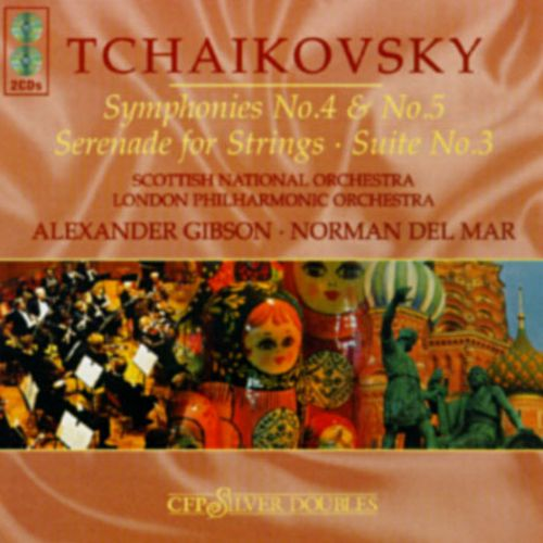 Tchaikovsky: Symphony Nos. 4 & 5/Serenade In C/Theme And Variations