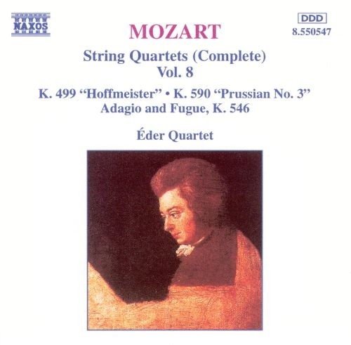 Mozart: String Quartets (Complete), Vol. 8