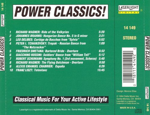 Power Classics! Classical Music for Your Active Lifestyle, Vol. 3