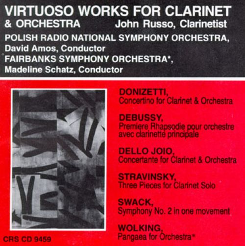 Virtuoso Works for Clarinet and Orchestra
