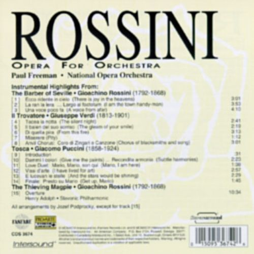 Rossini: Opera for Orchestra