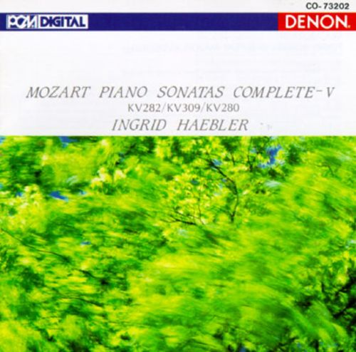 Mozart: Piano Sonatas, Vol. 5
