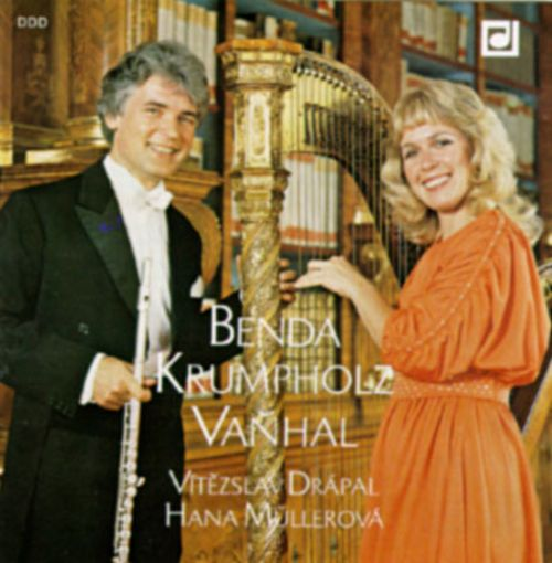 Benda/Krumpholz/Vanhal: Sonatas For Flute And Harpsichord