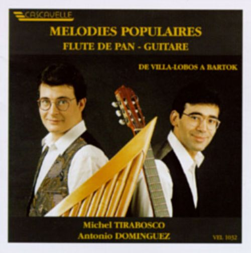 Popular Melodies for Panflute and Guitar