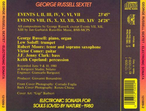 Electronic Sonata for Souls Loved by Nature - 1980