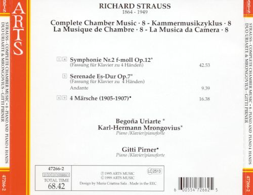 Richard Strauss: Complete Chamber Music, Vol. 8